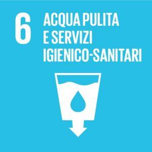 Agenda 2030 - Obiettivo n°6: garantire a tutti la disponibilità e la  gestione sostenibile dell'acqua e delle strutture igienico-sanitarie - HUB  Campus